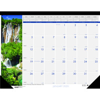 House of Doolittle (HOD171) Earthscapes Waterfalls of the World Desk Pad Calendar 22 x 17