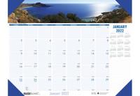 House of Doolittle (HOD1786) Earthscapes Coastlines Desk Pad 18-1/2 x 13