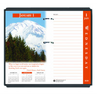 House of Doolittle (HOD417) Earthscapes Desk Calendar Refill 3 1/2 x 6