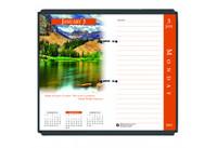 House of Doolittle (HOD417) Earthscapes Desk Calendar Refill 3 1/2 x 6