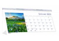 House of Doolittle (HOD3649) Scenic Desk Top Tent Calendar, 8-1/2 x 4-1/4