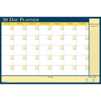 House of Doolittle (HOD641) 30 Day Non-Dated Laminated Planner 24 x 18