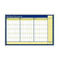 House of Doolittle (HOD6655) 90-Day Planner in Aluminum Frame 32 x 21-1/2