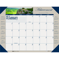 House of Doolittle (HOD175) Earthscapes Motivational Desk Pad Calendar 22 x 17