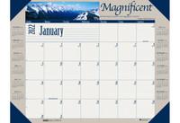 House of Doolittle (HOD175) Earthscapes Motivational Desk Pad Calendar 22 x 17