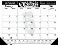 House of Doolittle Custom-Printed Desk Pad Calendar (Ordering Minimum is 1000)