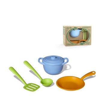 Green Toys- Children's Chef Kitchen Toy Set