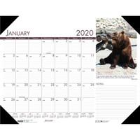 House of Doolittle (HOD172) Earthscapes Wildlife Desk Pad 22 x 17