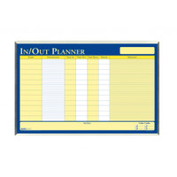 House of Doolittle (HOD6660) In/Out Laminated Planner Aluminum Frame 32 x21 1/2