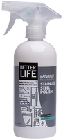Better Life Stainless Steel Cleaner and Polish - 16 fl oz