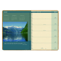 House of Doolittle (HOD528) Landscapes Weekly/Monthly Planner 8.5 x 11