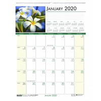 House of Doolittle (HOD327) Earthscapes Flowers Wall Calendar 12 x 16 1/2