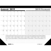 House of Doolittle (HOD1346) Two-Month (current and future month) Desk Pad 18 1/2 x 13