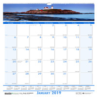 House of Doolittle (HOD328) Earthscapes Coastlines Wall Calendar 12 x 12