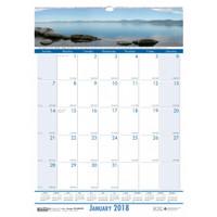House of Doolittle (HOD329) Earthscapes Coastlines Wall Calendar 12 x 16 1/2