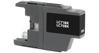 Brother LC71/LC75XL, Remanufactured Ink Jet - Black (High Yield)