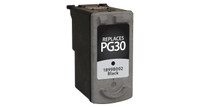 Canon PG-30, Remanufactured InkJet Cartridges, Black