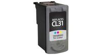 Canon CL-31, Remanufactured InkJet Cartridges, Tri-Color
