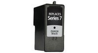 Dell Series 7, Remanufactured InkJet Cartridges, Black (High Yield)