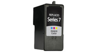 Dell Series 7, Remanufactured InkJet Cartridges, Color (High Yield)