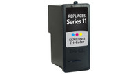 Dell Series 11, Remanufactured InkJet Cartridges, Tri-Color (High Yield)