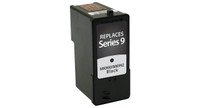 Dell Series 9, Remanufactured InkJet Cartridges, Black (High Yield)
