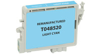 Epson T048520, Remanufactured InkJet Cartridges, Light Cyan