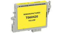 Epson T060420, Remanufactured InkJet Cartridges, Yellow