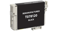 Epson T078120, Remanufactured InkJet Cartridges, Black
