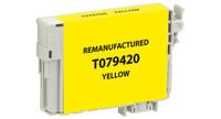 Epson T079420, Remanufactured InkJet Cartridges, Yellow (High Capacity)