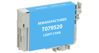Epson T079520, Remanufactured InkJet Cartridges, Light Cyan (High Capacity)