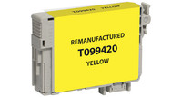 Epson T099420, Remanufactured InkJet Cartridges, Yellow