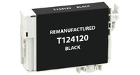 Epson T124120, Remanufactured InkJet Cartridges, Black