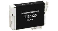 Epson T126120, Remanufactured InkJet Cartridges, Black (High Capacity)