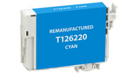 Epson T126220, Remanufactured InkJet Cartridges, Cyan (High Capacity)