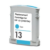 HP 13, Remanufactured InkJet Cartridges, Cyan