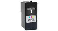 Lexmark #1, Remanufactured InkJet Cartridges, Color