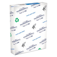 Hammermill Recycled Great White Copy Paper, 8 1/2'' x 11'', 100% PCR, Ream