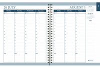 House of Doolittle (HOD295-93) Academic Weekly/ Monthly Planner, Dot Cover