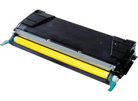 Lexmark C5242YH, Remanufactured Toner Cartridge Yellow