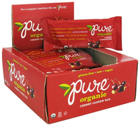 Pure Organic Fruit and Nut Bar, 12 Pack