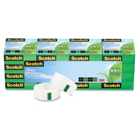 "Scotch - Magic Greener Tape, 3/4"" x 900"", 1"" Core, 16/Pack"