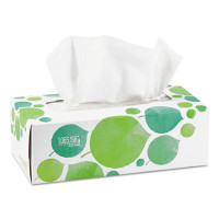 Seventh Generation 100% Recycled Facial Tissue, 2-Ply, 175/Box, 4 Pack