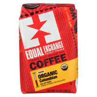 Equal Exchange Organic Drip Coffee - Colombian - Case of 6 (12 oz each)