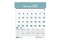 House of Doolittle (HOD330) Monthly Wall Calendar Bar Harbor 6 x 7 Inches