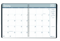 House of Doolittle (HOD262502) Monthly Calendar Planner 5 Year Black 8-1/2 x 11 Inches
