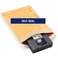 """Recycled Gold Self-Seal Padded Mailers #1 - 7 1⁄4 x 12"""", QTY./ CASE -100"""