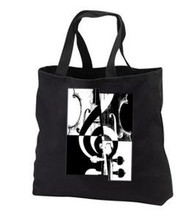Black Canvas Music Bag, violin art