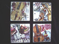 Violin Art Coasters