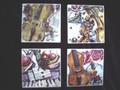 Violin Art Coasters
